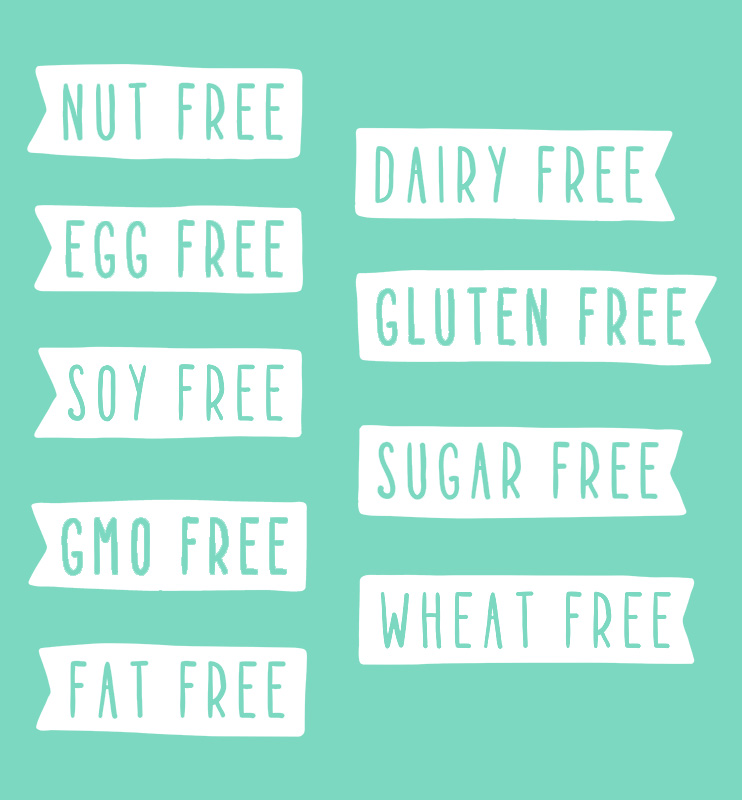Skinnytabs is sugar free, soy free, gluten free, wheat free, nut fee, dairy free, and vegan